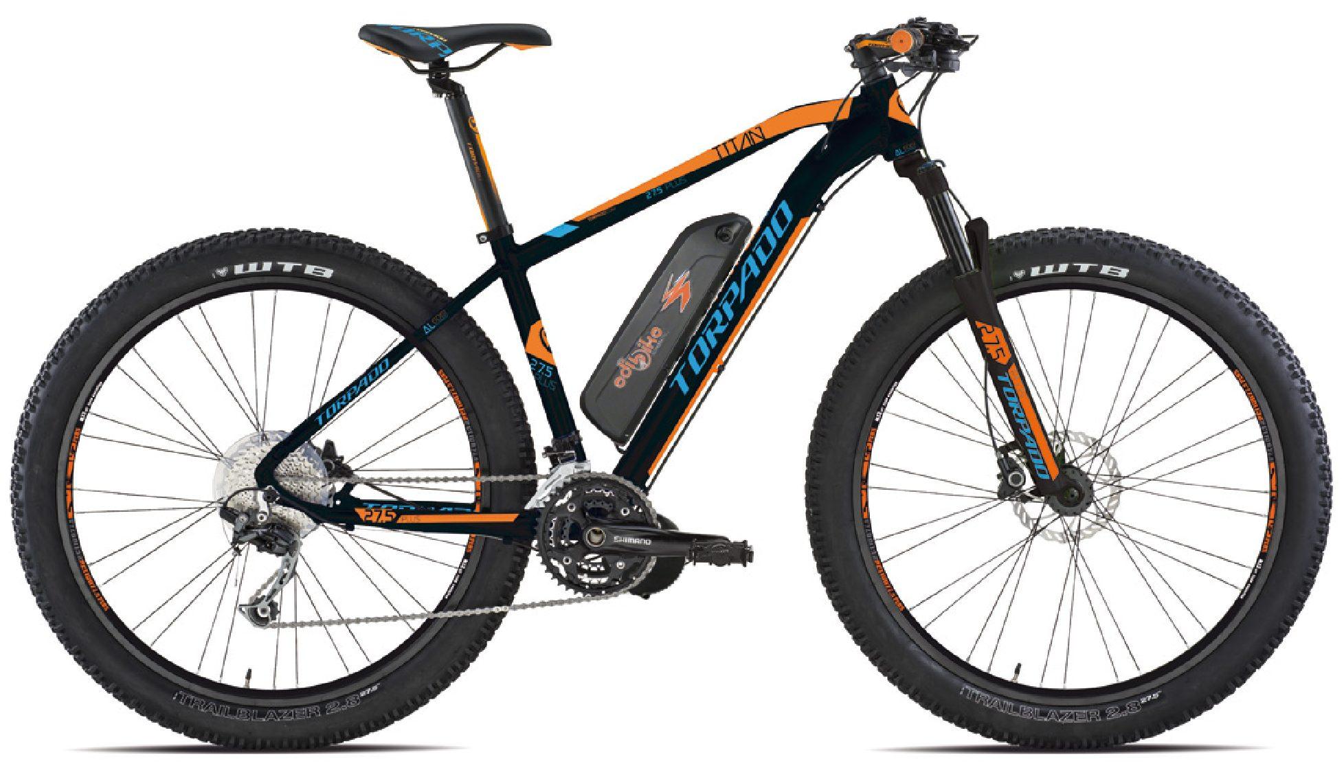 Bici Elettrica  MTB TORPADO  titan  30  25,5  plus  kit motore centrale  da  500 watt  a 750 watt  a 1000 watt  coppia da 100 a 160 Nm a partire  da :